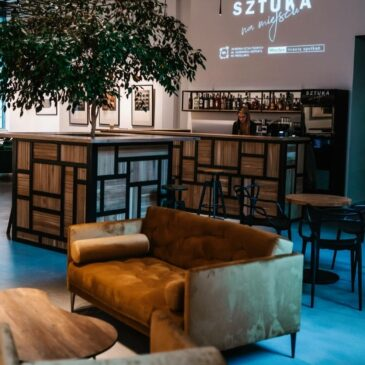 Bar w Galerii Sztuka Na Miejscu we Wrocławiu